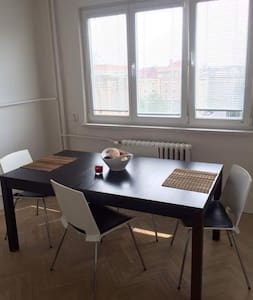 Onebedroom apartment with nice wiew - Ostrava - Apartment