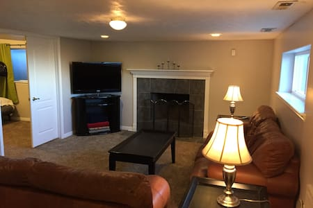 Basement Space with Views Near Downtown Salt Lake - Hus
