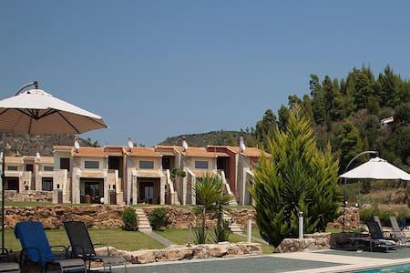 1 BD, Apartment, Sea view, Shared pool - Nea Skioni - Flat