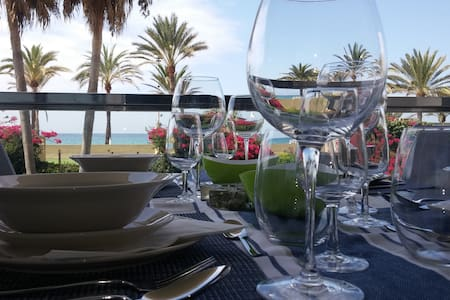 웃웃✈Front Sea Wide Terrace+Pool+Parking - Palma - Apartment