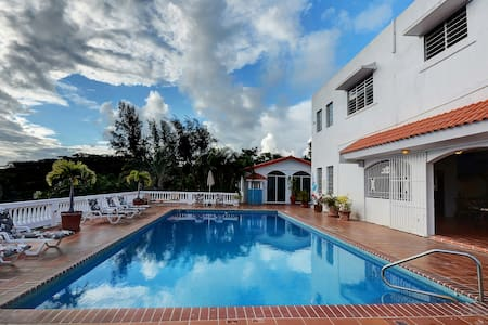 Villa overlooking Caribbean 10K SF - Vieques