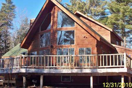 Lake George Adirondack stye house  - Chalet