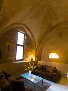 Beautifully restored chapel to an extremely high standard, the property is a tasteful and fascinating mixture of original features and modern necessities. Our village is a twist of medieval streets, 5 minutes away from Pezenas and 25 min from the sea