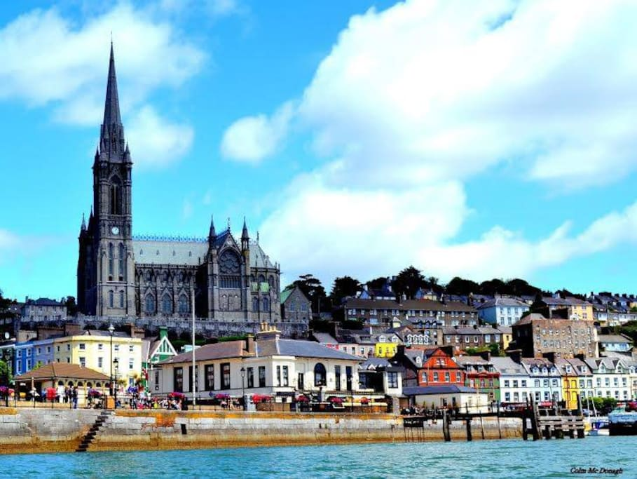 Our beautiful Town (taken from the harbour)