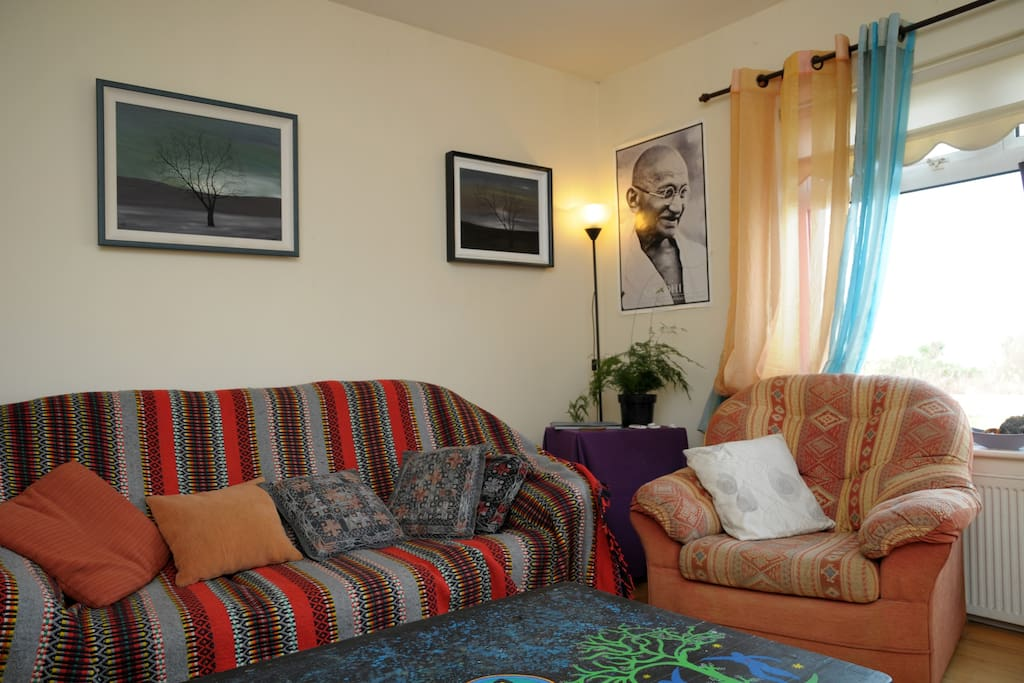 The sitting room.