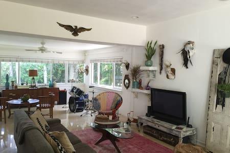 Bohemian tropical bungalow