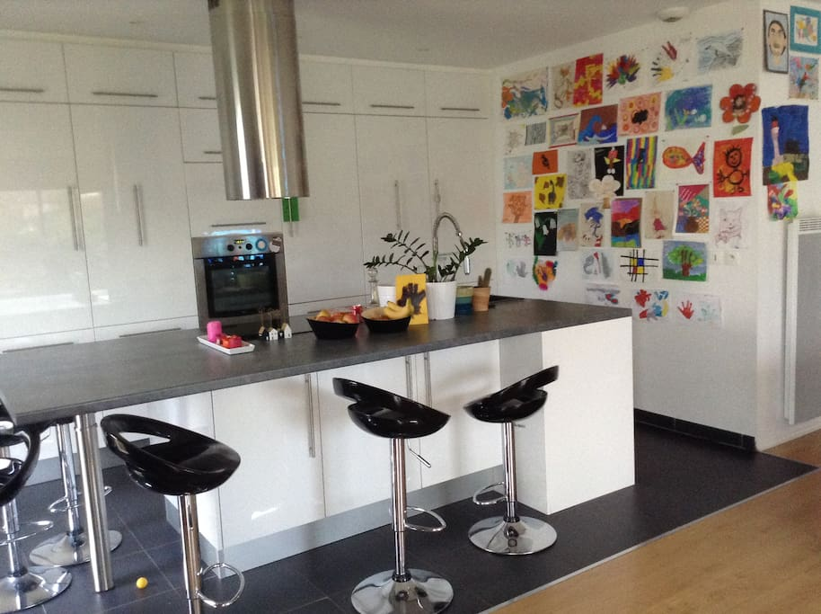 La cuisine, un lieu convivial pour tout partager