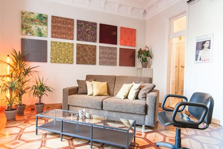 SECRET RETREAT (+ relaxing terrace) - Barcelona - Apartamento