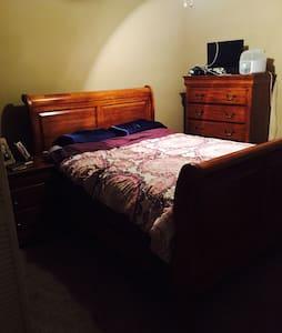 Quiet comfy Apartment