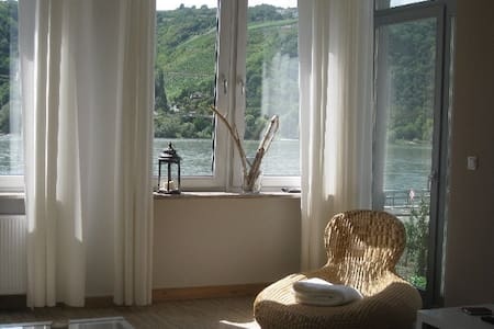 """Wohnung am Rhein-""""Pfalzgrafenstein"""" - Lorch - Wohnung"""