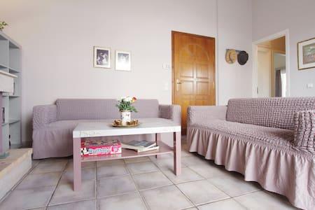Ευχάριστο σπίτι πολύ κοντά σε Προαστιακό/Μετρό - Vrilissia - Appartement
