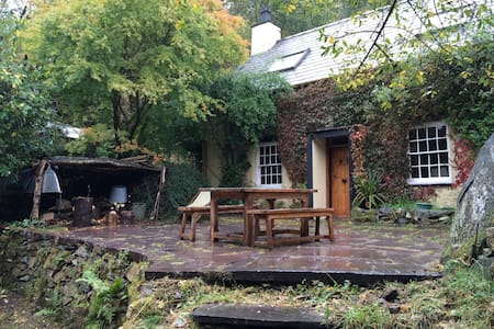 Snowdonia woodland character home *LL55 3HD* - Maison