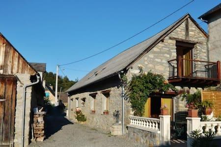 ancienne grange rénovée  - House