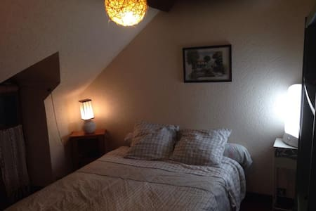 Double room in spa town - Huis
