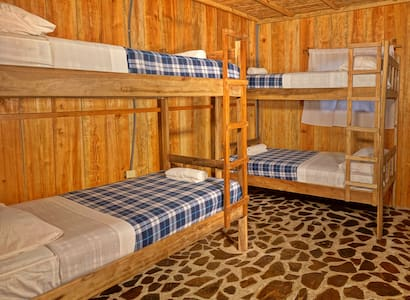 Hostal Ulap Yasica - Dorm beds!