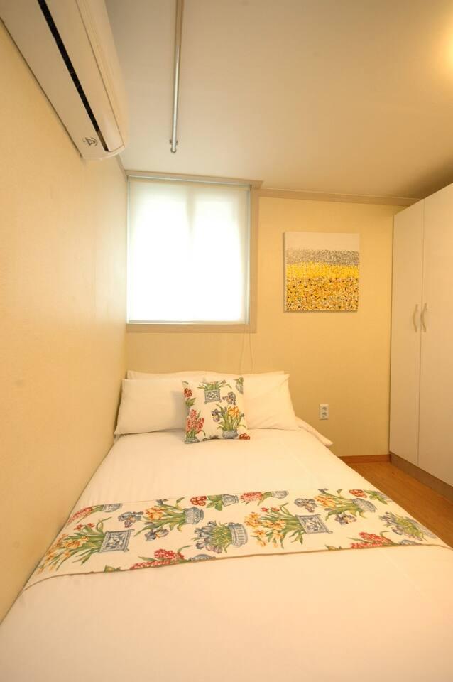 cozy studio for 2 nearby Shinsa sub