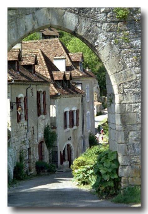 Medieval Gate - Porte Rocamadour
