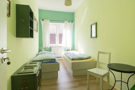 fancy twin room right in the historic centre - Weimar