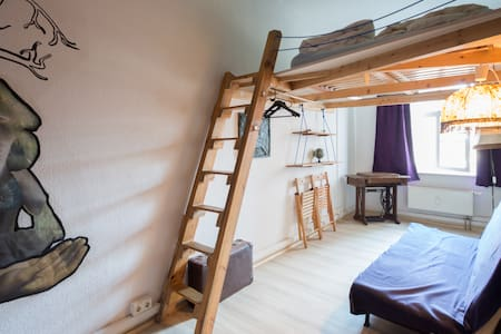 fancy double room right in the historic centre - Weimar