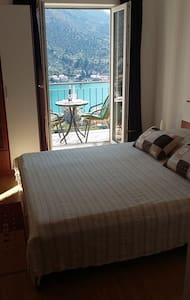 Ensuite room with sea view balcony