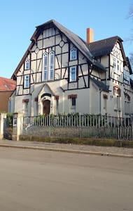 Originelles Jugendstil Fachwerkhaus - Apolda