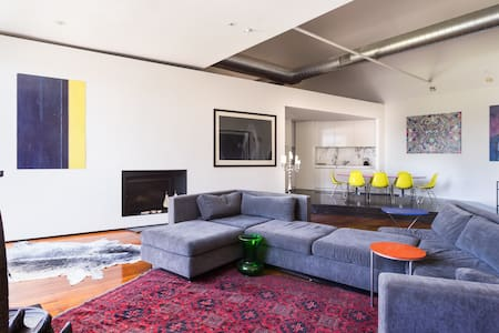 Art Gallery Warehouse Apt St Kilda - St Kilda - Loft
