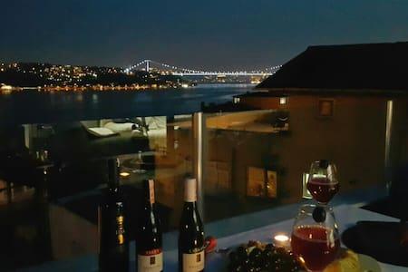Breathtaking Bosphorus terrace... - Huoneisto