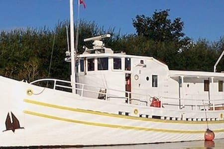 Faithful Houseboat, Brixham - Kingswear