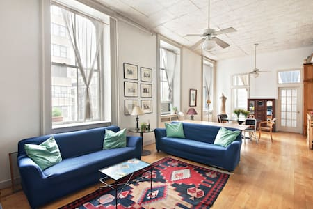 TRIBECA HISTORICAL LOFT PRIVAT ROOM