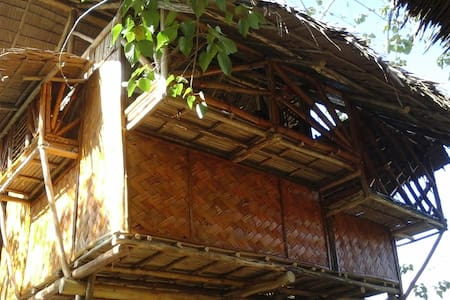 Chilling Bamboo Tree House