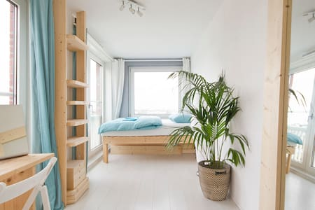 Nice comfy room, magnificent view - Amsterdam - Bed & Breakfast