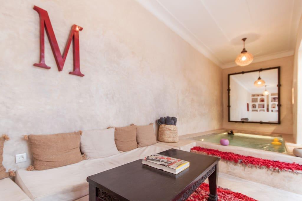 Riad Medina with own pool
