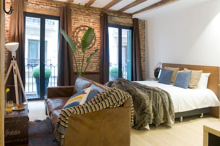 Old town Luxury factory suite. - Donostia - Apartment