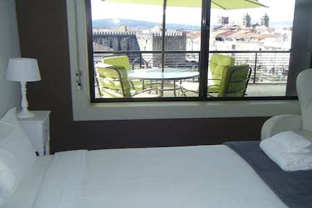 Penthouse Historic Center  BRAGA - Apartment