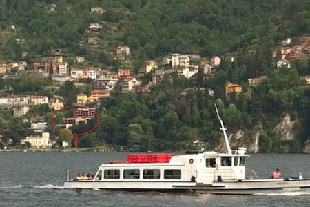Flat with pool in Blevio -Como lake - Apartment