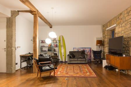 SINGLE ROOM NEAR ZURRIOLA BEACH - Apartment
