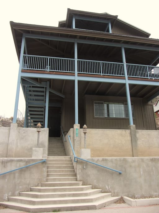 Mt. Lemmon Altitude House...stairs!