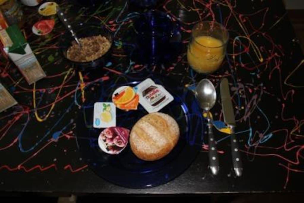 Breakfast/Frühstück