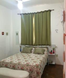 Confortable bedroom at Flamengo