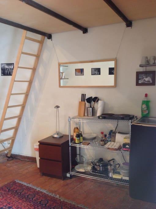 Trastevere studio Porta Settimiana
