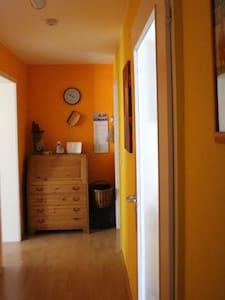 Suite mit Terrasse zum Garten in Bensheim - Apartment