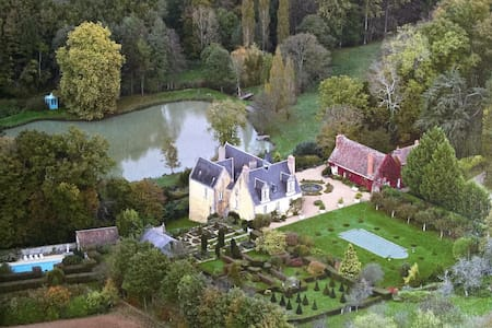COUNTRY CHATEAU IN LOIRE VALLEY - Le Boulay - Dom