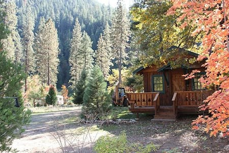 """Logger's Camp"" Cabin at Feather River Hot Springs - Cottage"