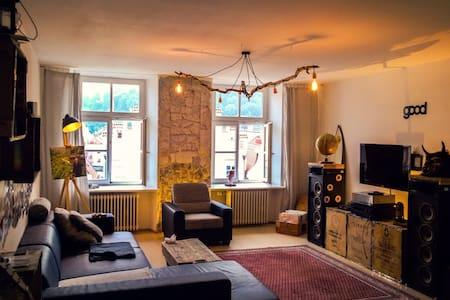 Gemütliches Zimmer in Landshuter Altstadtwohnung - Apartmen