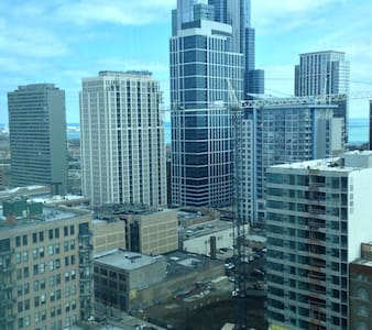Condo with lakeview in South Loop