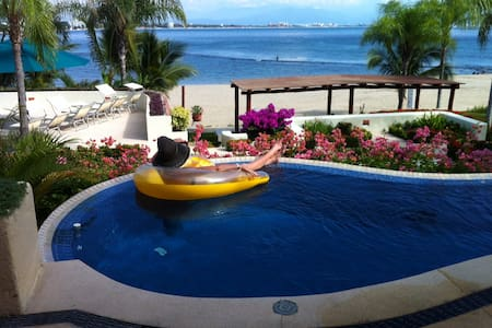 Beachfront Condo with Private Pool -  La Cruz de Huanacaxtle
