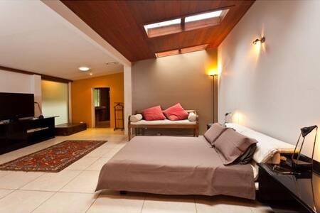 Extra large studio type bedroom