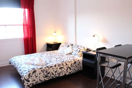 Newly renovated , fully functional studio apartment located on Oakwood Ave. between St. Clair & Eglington.