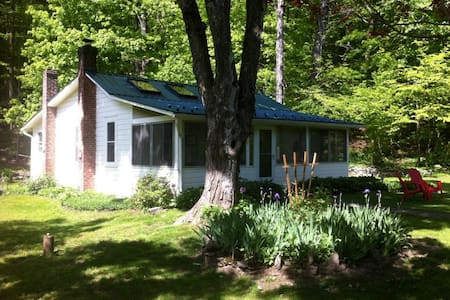 Charming Catskills Cottage - Mount Tremper - Blockhütte