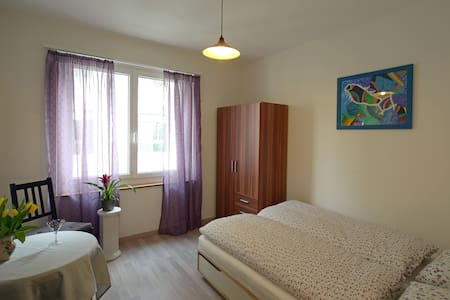 Cosy double room in Interlaken - Appartement